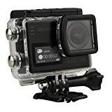 SJCAM SJ6 LEGEND 4K スポーツカメラ(タッチ可能なバックドア*1、追加電池*1、microsd 16GB*1同梱),防水 広角 タッチスクリーン ジャイロスコープ搭載 アクションカメラ