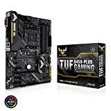 ASUS AMD B450搭載Ryzen2 AM4 DDR4 HDMI DVI M.2 ATXマザーボード TUF B450-PLUS GAMING【ATX】